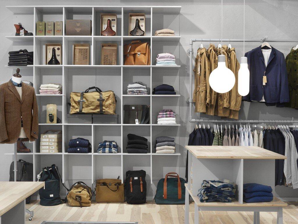 Шоурум брендовых мужских сумок